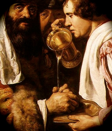 """Detail from Jan Lievens, """"Pilate washing his hands"""""""