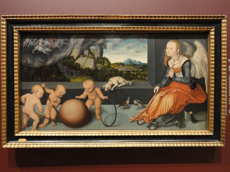 """Melancholy"" by Lucas Cranach the Elder Wikimedia Commons"