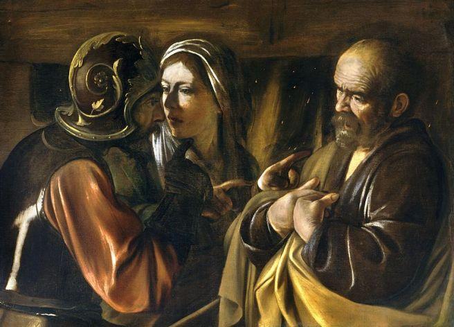Caravaggio - The Denial of Saint Peter