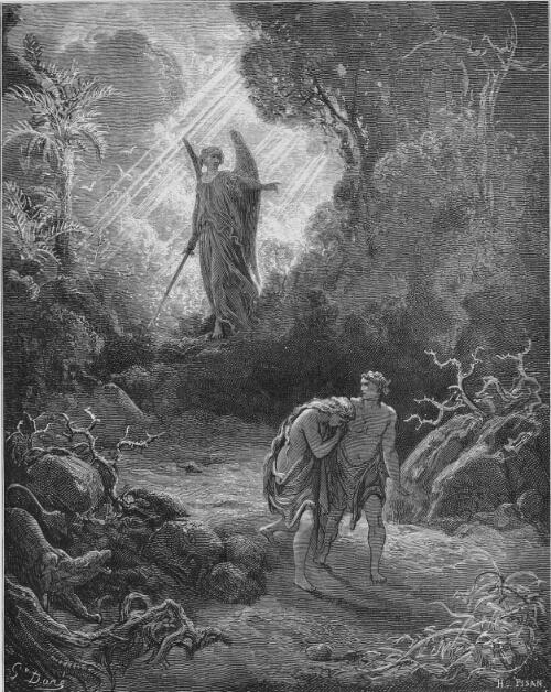 Gustav Dore - Exile From Eden