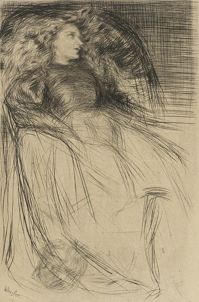 """James McNeill Whistler, """"Weary"""" Wikimedia Commons"""