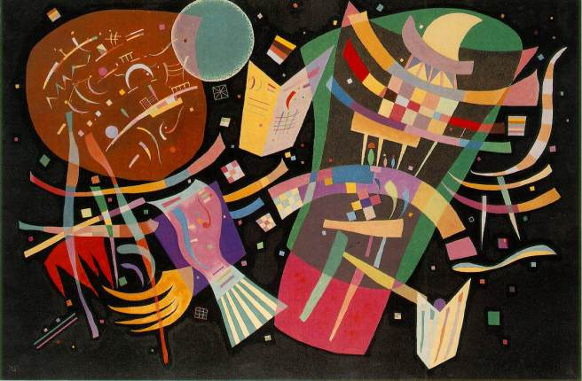 "Wassily Kandinsky, ""Composition X"" www.artchive.com"