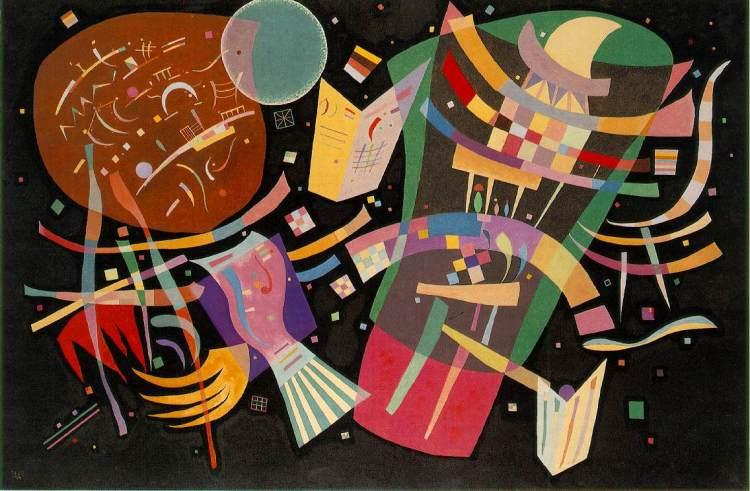 "Wassily Kandinsky, ""Composition X"" www.artchive.com"