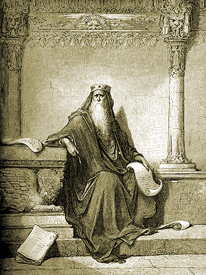 "Gustav Doré, ""King Solomon"" Wikimedia Commons"