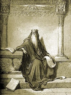 """Gustav Doré, """"King Solomon"""" Wikimedia Commons"""