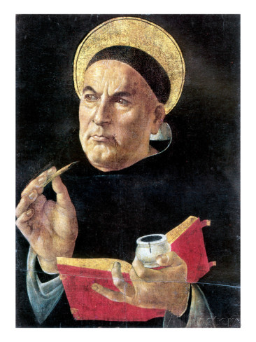 """St Thomas Aquinas"" by Sandro Botticelli"