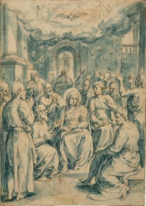 """Crispin van den Broeck - """"Pentecost"""""""