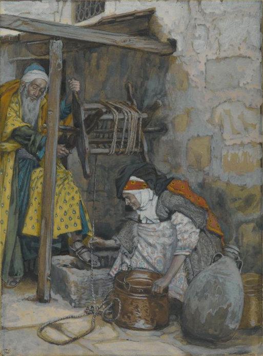 Portrait de Zacharie et d'Elisabeth - James Tissot (Brooklyn Museum, Wikimedia Commons)