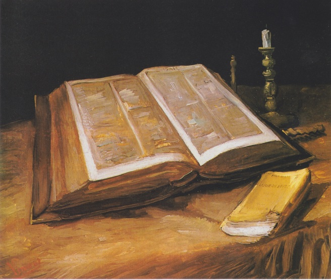 Van Gogh - Stillleben mit Bibel