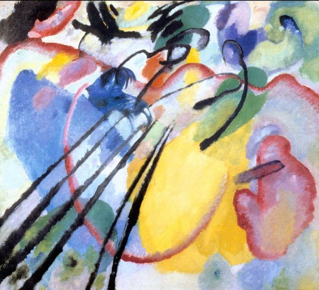 Wassily Kandinsky - Improvisation 26