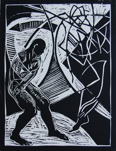 "Edward Knippers, ""Annunciation"", theology forum.wordpress.com"